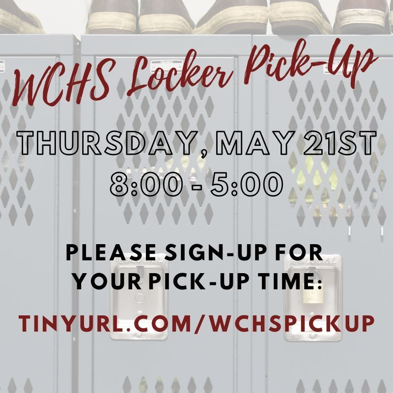 WCHS Locker-Pick Up