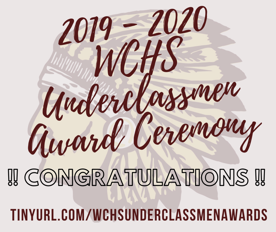 WCHS Underclassmen Awards Ceremony