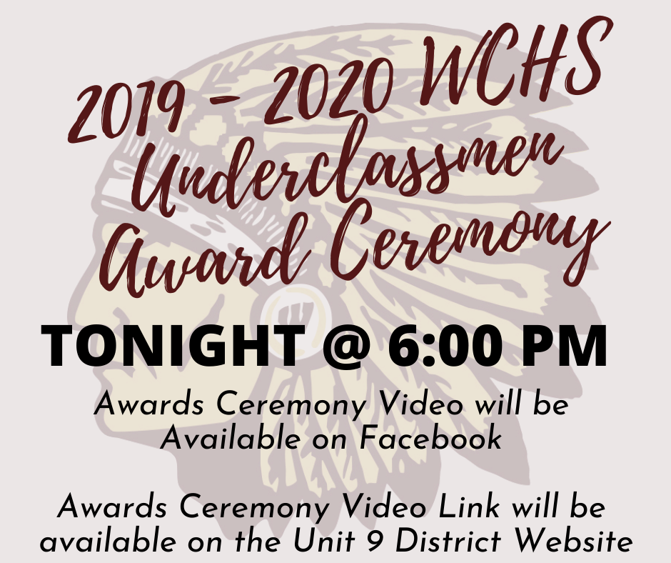 WCHS Underclassmen Award Ceremony
