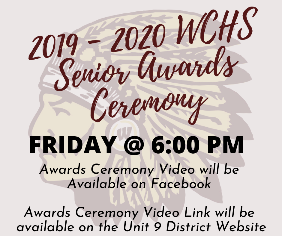 2019 - 2020 Senior Awards Ceremony