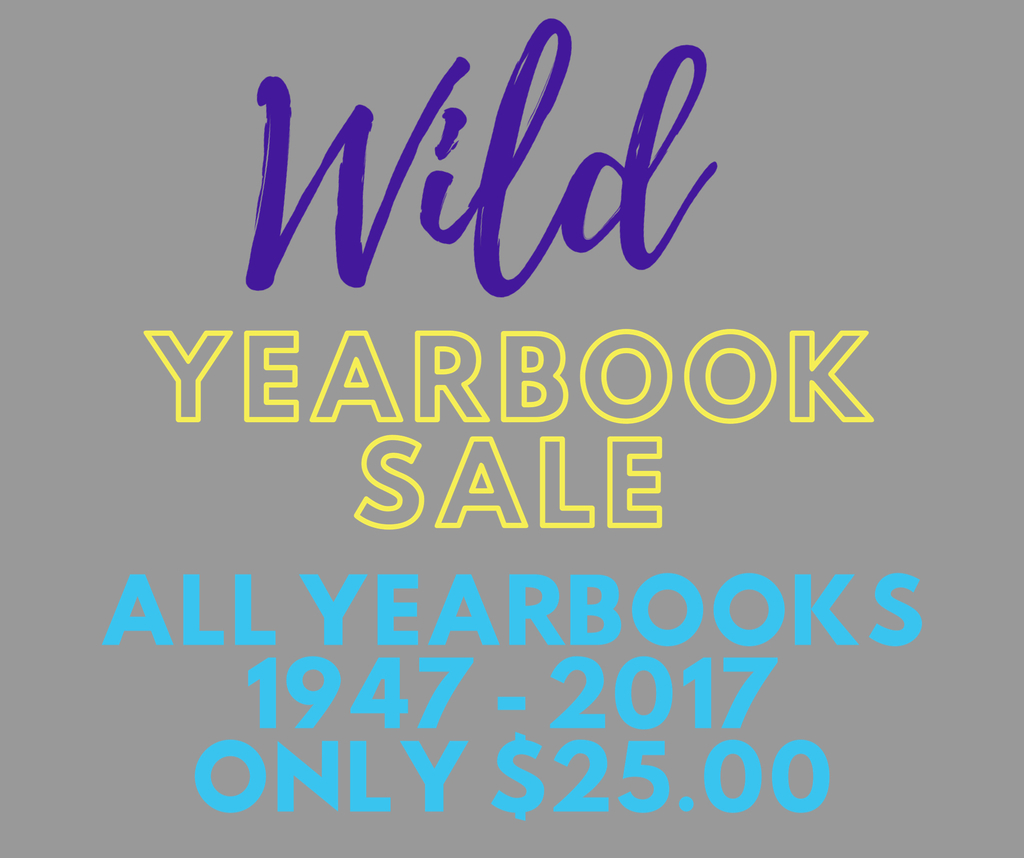 WCHS Yearbook SALE